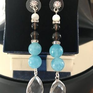 earrings from natural stones